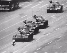 TIANANMEN SQUARE PROTESTER EVENT Poster | Cubical ART | Gifts | FREE Shipping