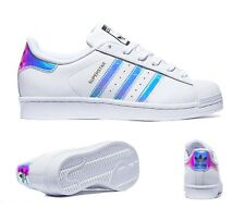 ADIDAS SUPERSTAR IRIDESCENT ALL SIZES UK 3-6 BOYS/GIRLS/WOMENS LIMITED SHOES