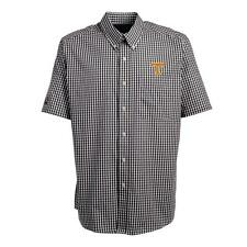 Tennessee Volunteers Vols UT Short Sleeve Button Down Shirt