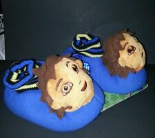 Toddler boys Nickelodeon Go Diego Go Blue 3D House slippers Size 5-6 7-8