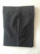 Boys SCHOOL SHORTS ADJUSTABLE WAIST Grey/black/charcoal/navy BHS AGE 3-12 bnwot