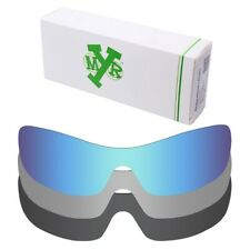 Mryok POLARIZED Replacement Lenses for-Oakley Antix Ice Blue / Silver / Black