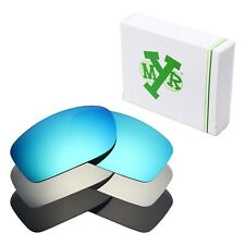 MRY POLARIZED Replacement Lenses for-Oakley Fives Squared Blue / Silver / Black