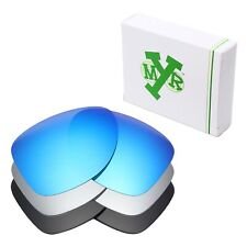Mryok POLARIZED Replacement Lenses for-Oakley Dispatch 2 Blue / Silver / Black