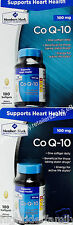 Member's Mark Co Q-10 COQ-10 100mg Supports Heart Health, 180 or 360 Softgels