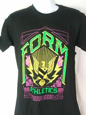 YOUNG GUNS Form Athletics Black T-shirt New