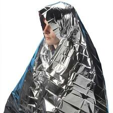 2x Emergency Foil Survival Blankets - Waterproof - First Aid Hiking **Free P&P**
