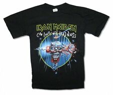 Iron Maiden Can I Play with Madness Tour 2012 Mens Black T Shirt