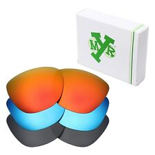 MRY POLARIZED Replacement Lenses for-Oakley Frogskins Red / Blue / Black