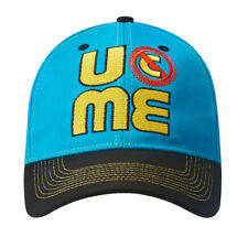 John Cena Mens Blue Throwback Costume Hat T-shirt Wristbands