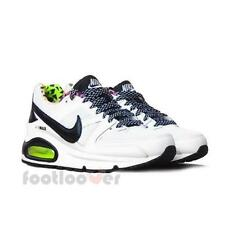 Scarpe Nike Air Max Command Gs 705391 100 running Woman White Black Multicolor