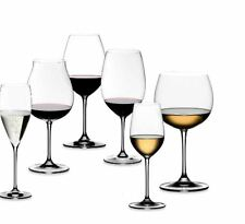 Riedel® Vinum XL Stemware Collection Crystal Wine Set of 4 Glasses Clear Antique