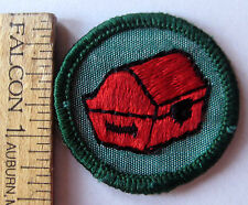 Girl Scout 1963-1980 Junior COLLECTOR BADGE Trunk Patch CHOOSE Fabric/Year/Type