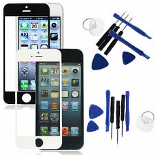 LCD Replacement Glass Front Screen Panel Cover + Tools Set or Apple iPhone New