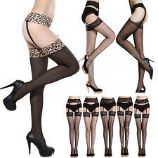 Sexy Womens Stockings Tights Socks Open Crotch Crotchless Sheer Pantyhose Socks
