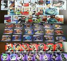 CARTE DISNEY INFINITY 1.0/2.0/3.0  CARD CARTE STAT CODE
