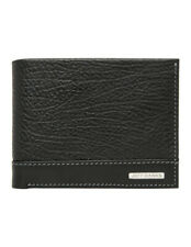 NEW Jeff Banks Contrast Panel Wallet Black