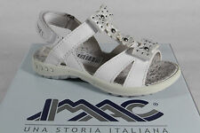 IMAC Girls Sandals white Leather insole, flat new