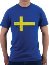 Sweden Flag Vintage Style Retro Swedish T-Shirt Gift Idea