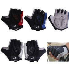 Cycling Gloves Bicycle Motorcycle Sport Gel Half Finger Gloves SXL Size FastShip