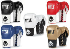 Title Boxing Boxeo Pro Fight Gloves Kickboxing Competition Sparring Training