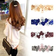 Crystal Rhinestone Hair Barrette Clip Vintage Hair Accessories Women Headwear