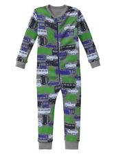 Baby Gap pajamas NWT CARS TRUCKS Bus Taxi construction transportation sleeper pj