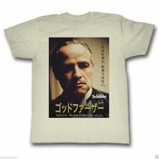T-Shirts Sizes  S-2XL New Authentic Mens The Godfather Japanese Poster T Shirt