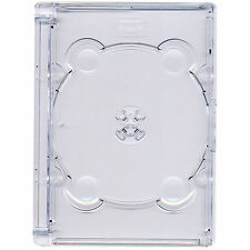 CD DVD Super Jewel Box 10.4mm King Case for 1 or 2 Disc with Super Clear Tray