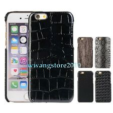 Luxury Premium Leather Business Style Back Case Housing Cover for Apple iPhone