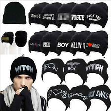 Cool Cap Dance Knit Winter Hot Acrylic Top Hat Hip-hop Unisex Beanie Hats j