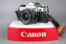 Canon AE-1 Program 35mm Film Camera w/ Canon FD 28mm f/2.8 Lens