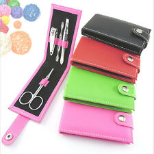 Nice 4 in 1 Pocket Professional Manicure Pedicure Set Kit Nail Care Clipper Tool