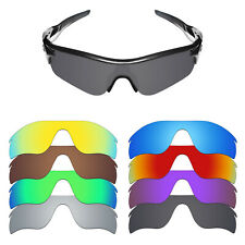 MRY POLARIZED Replacement Lenses for-Oakley RadarLock Path- Option Colors