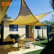 10FT Outsunny Garden Patio Triangle Sun Shade Sail Awning Shelter Canopy 3×3×3M