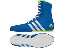 Adidas Box Hog Mens Boxing Lace Up Lightweight Shock Blue Boots