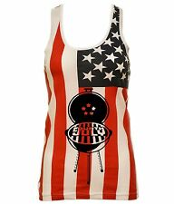 Women's USA Flag Tank Top 4th Of July Grill USA Party Top