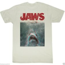 T-Shirts Sizes S-2XL New Authentic Mens Jaws in Terrifying 3D T-Shirt