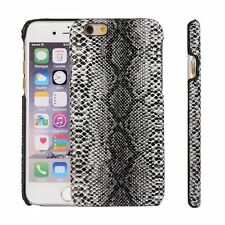 Luxury Snake Skin Leather Case Protect Back Hard Cover For Various Mobile Phones