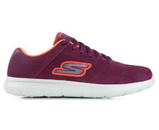 Skechers Women's Go Walk City Challenger Shoe - Burgundy