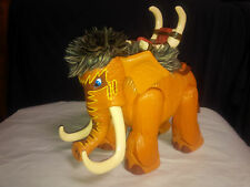 """L@@K MATTEL IMAGINEXT ROARING WOOLY MAMMOTH ELEPHANT 8"""" ACTION FIGURE from 2006!"""