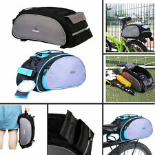 Bike Bicycle Cycling Rack Bag Seat Cargo Bag Rear Pack Trunk Pannier Handbag New