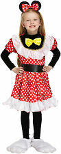 Girls Mouse Fancy Dress Dressing Up Costume Outfit Age 4 - 9 World Book Day