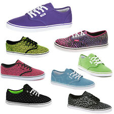 Vans Off The Wall Atwood Low Authentic Pro Floral Disney Unisex Womens Trainers