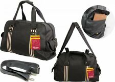 NEW MESSENGER WORK TRAVEL SCHOOL COLLEGE SATCHEL LAPTOP SHOULDER BAG BLACK