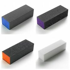 THE EDGE Nail Sanding Square Block's x 10 (Various Grit Size) OFFICIAL STOCKIST