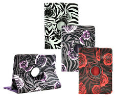 "Samsung Galaxy Tab 3 10.1"" GT-P5210 Zebra Flower 360 Leather Smart Cover Case"
