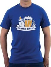Father's Day Gift Dad & Baby Drinking Buddies T-Shirt Funny