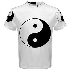 Yin Yang Chinese Symbol Sublimated Sublimation Men's T-Shirt S,M,L,XL,2XL,3XL