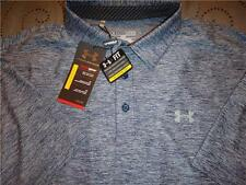 UNDER ARMOUR  GOLF POLO SHIRT SIZE XXL XL L S NWT $$$$